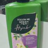 Green Tea Hijab Hair Fall Solution