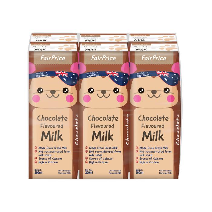 UHT Flavoured Packet Milk - Chocolate