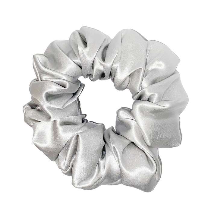 Silk Scrunchie In Stone