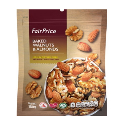 Baked Walnuts and Almonds