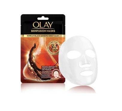 Skinfusion Korean Black Ginseng Sheet Mask