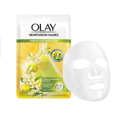 Skinfusion Korean Yuzu Sheet Mask