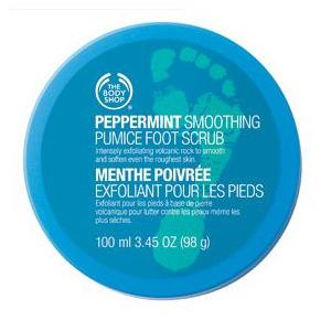 PEPPERMINT SMOOTHING FOOT SCRUB